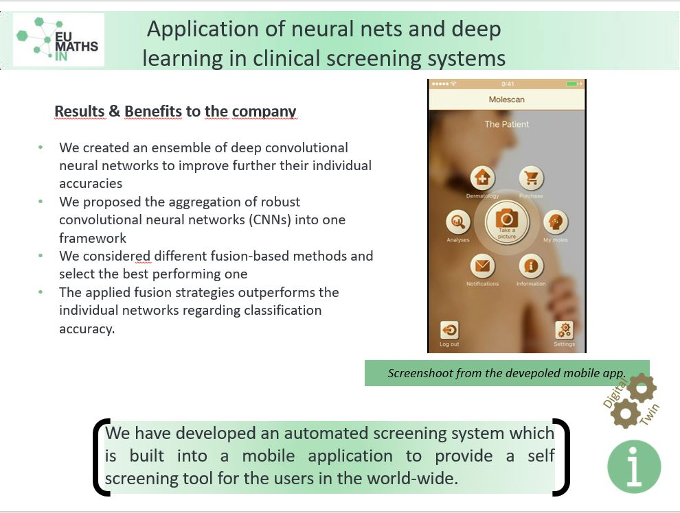 Application of neural nets and deep learning in clinical screening systems